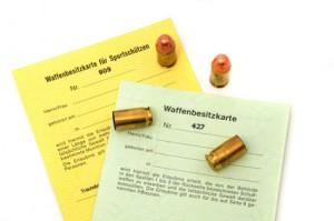 Waffenschein Waffenbesitzkarte