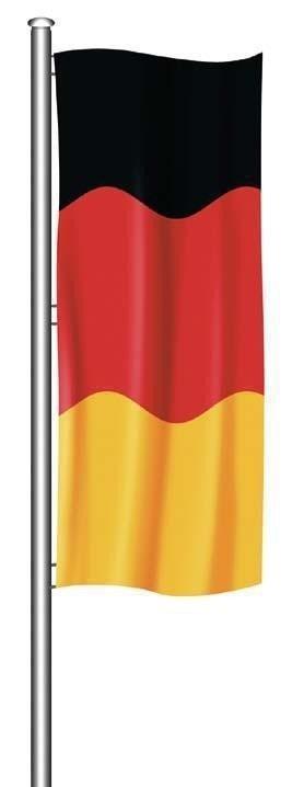 Deitert Sch/ützenfahne mit Sch/ützenlogo gr/ün-wei/ß Hissfahne Quer Flagge