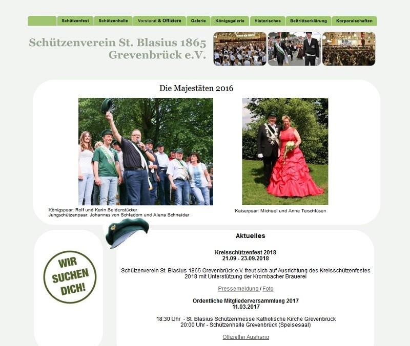 Schützenverein St. Blasius Grevenbrück (Screenshot/schuetzenverein-grevenbrueck.de)